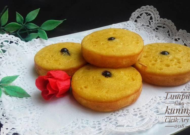 Kue lumpur labu kuning – Resep membuatnya