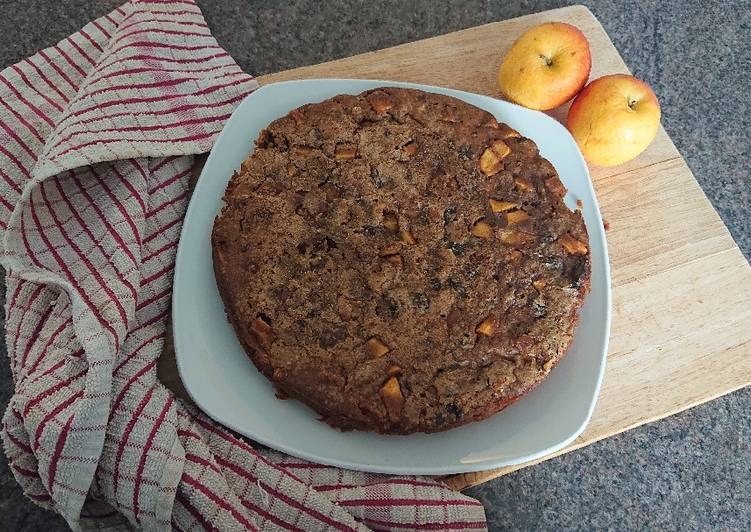 Step-by-Step Guide to Make Perfect Apple and Raisin Cake