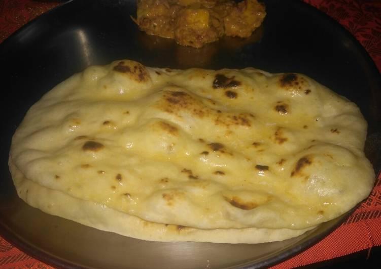 Grandmother's Dinner Ideas Speedy Butter naan with hotel style paneer Butter masala