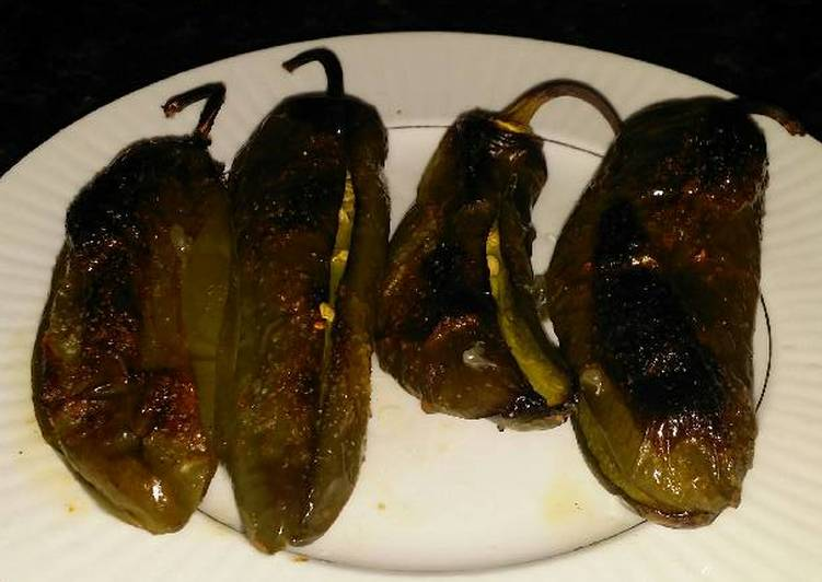 Brad's roasted chiles