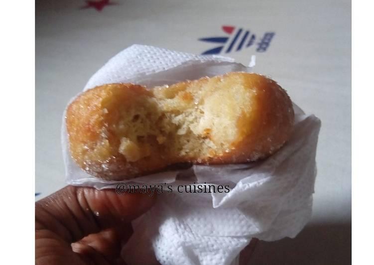 Recipe of Quick Sugar coated doughnut