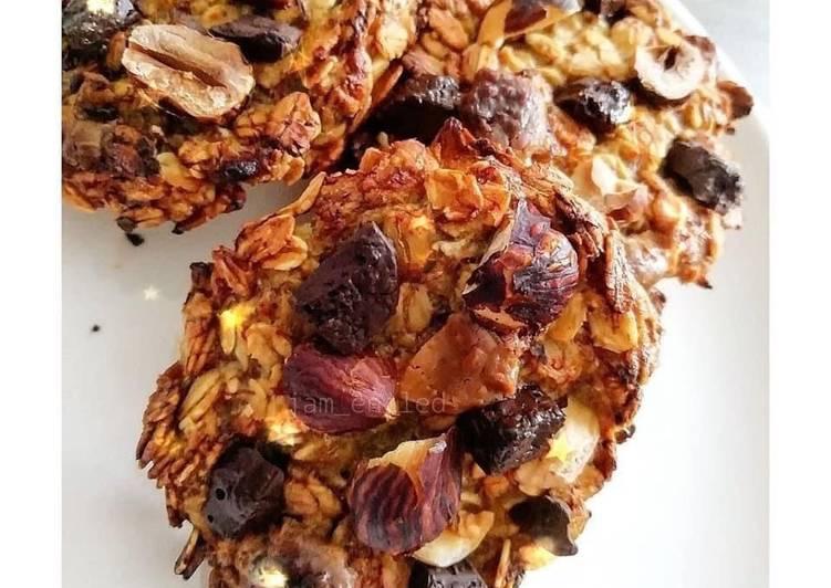 Les Meilleures Recettes de Cookies banane avoine 🍌