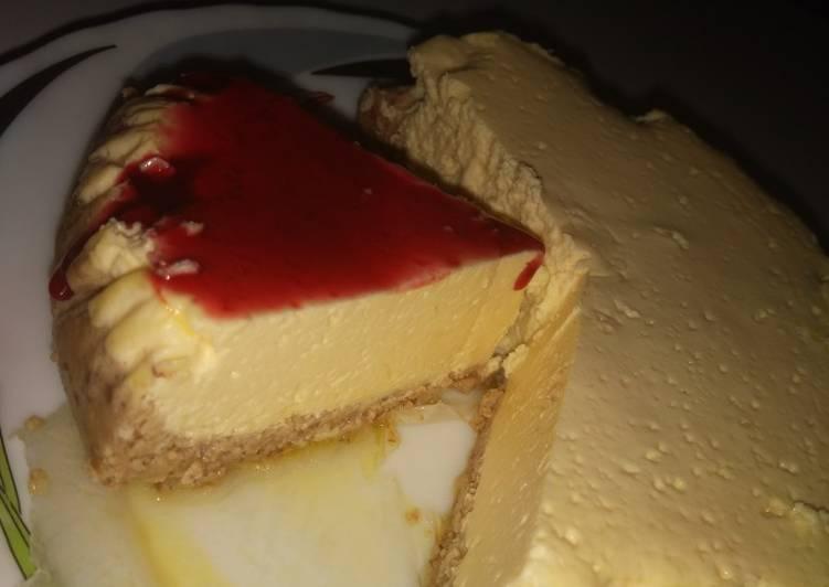 Almond flour cheese cake