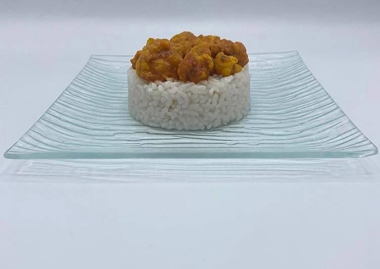 Curry de Choux Fleur et son Riz Liv