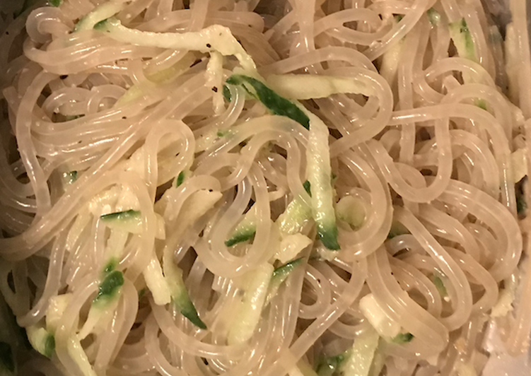 Korean cold noodle (boil 10min, cook 2 min)
