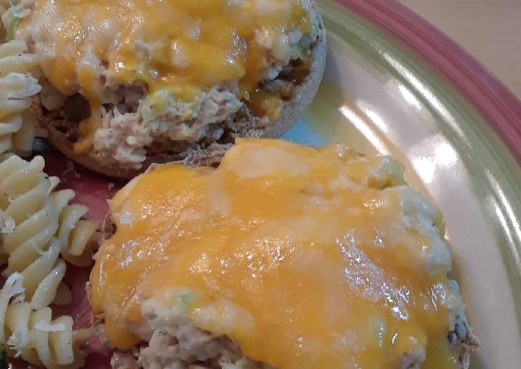 Easy Open Faced Tuna Melts