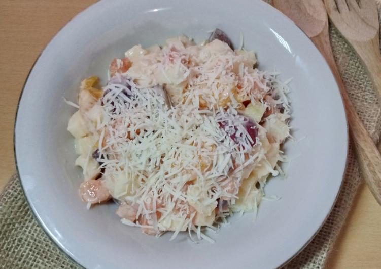 Salad buah lebaran