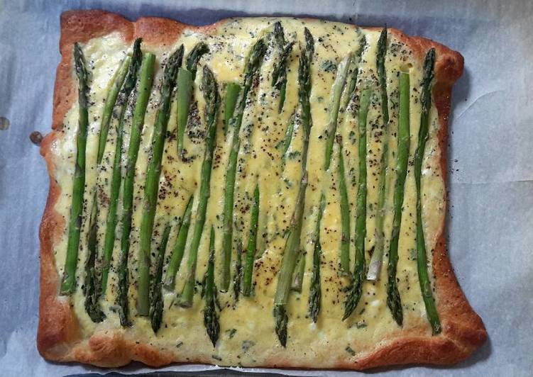 Easiest Way to Cook Delicious Spring asparagus tart