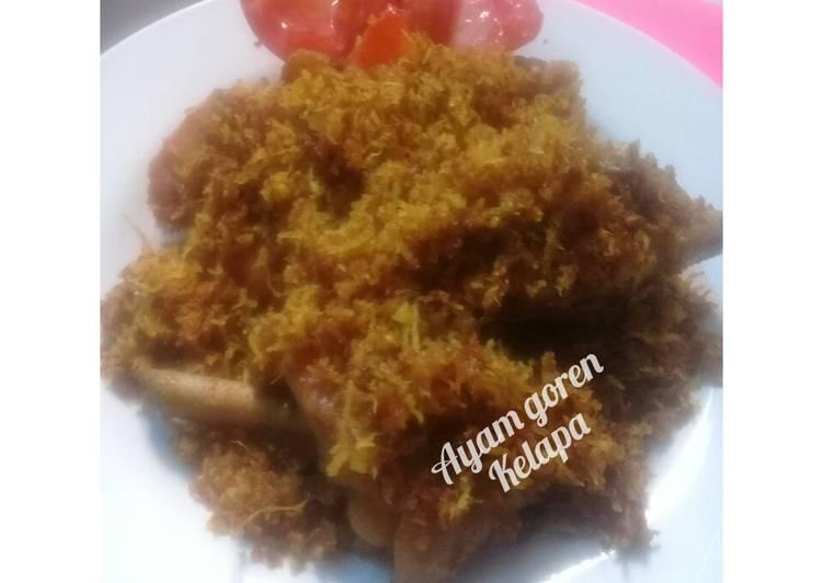 🍒 Ayam goreng kelapa