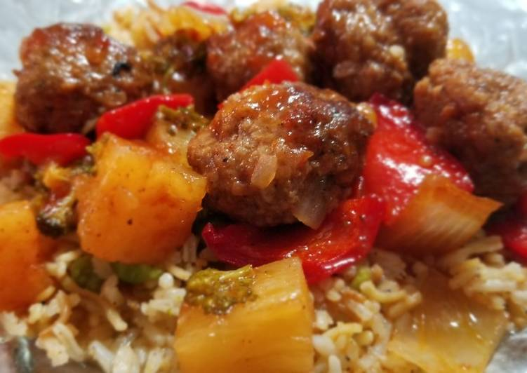 Learn How to Elevate Your Mood with Food Sheik's Sweet N' Sour Meatballs