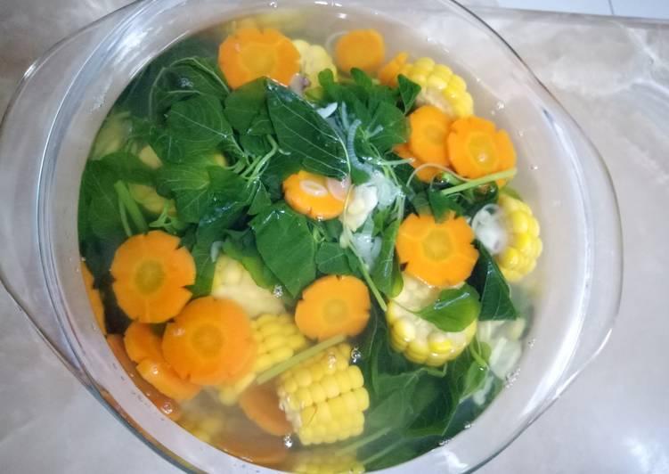 Sayur Bening Segar dan Sehat