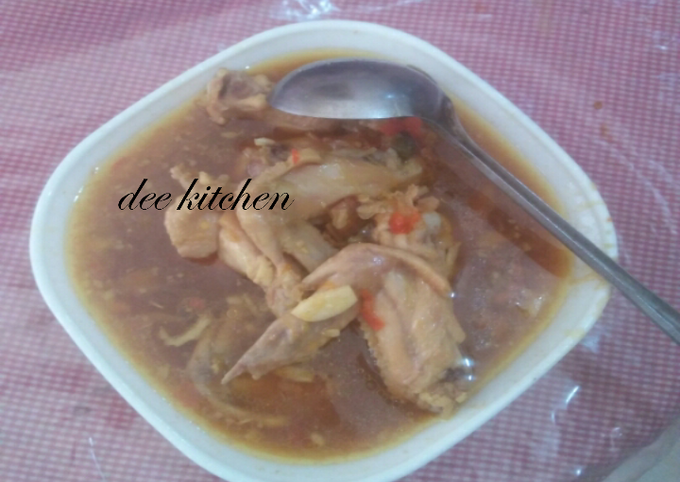 Resep Rica rica ayam kecap yang lezat dan Mudah Dibuat