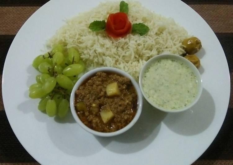 50+ Dinner Easy Autumn Aloo qeema Platter😋🍛