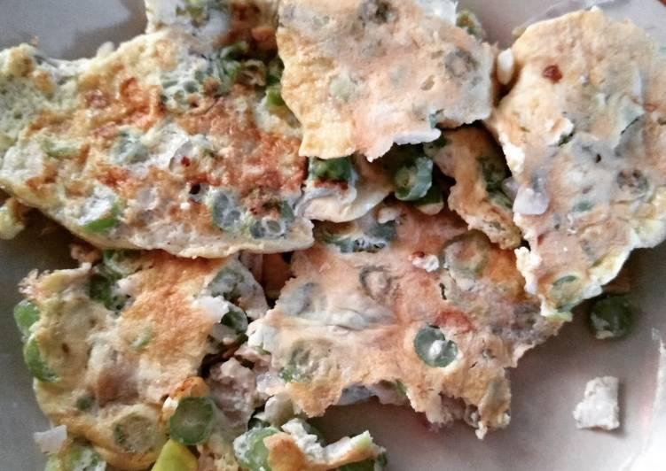 Omelet Telur Buncis Jamur