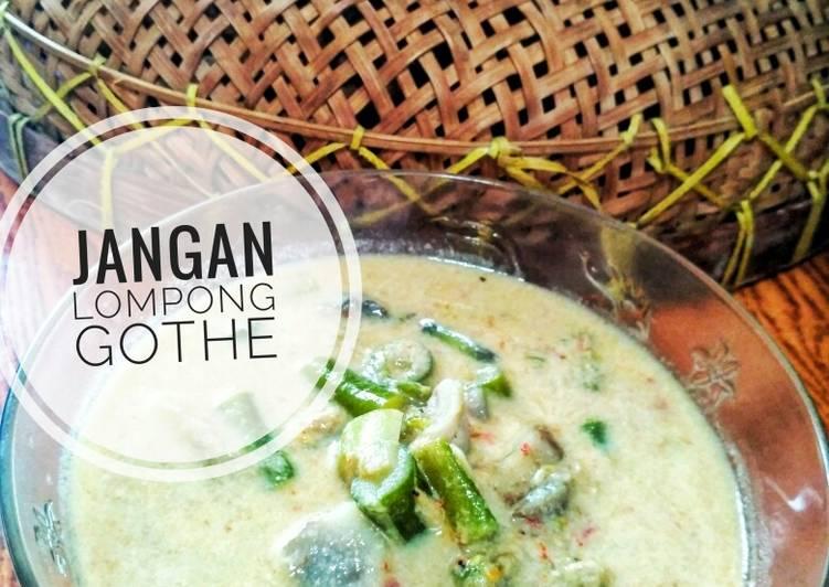 Sayur Lompong (ubi talas)