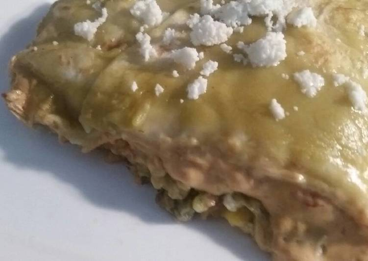 Easiest Way to Make Award-winning Green Enchilada Casserole