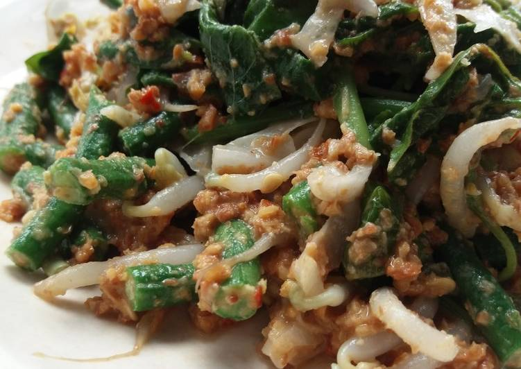 Pecel sayuran