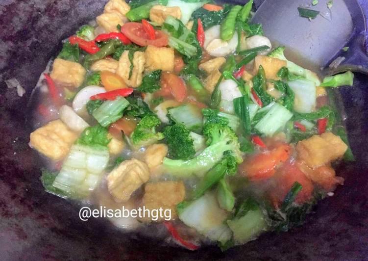Tumis Sayuran (Sehat dan sederhana)