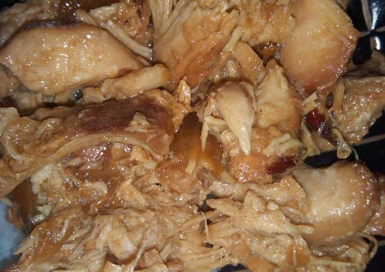 Recipe: Tasty Char Siu Shredded Chicken (Slow Cooker/Crockpot Recipe)