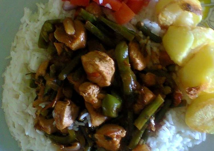 Recipe of Any-night-of-the-week Lemon Rice Chicken Stir Fry With Potatoes #localfoodcontest NAIROBI SOUTH
