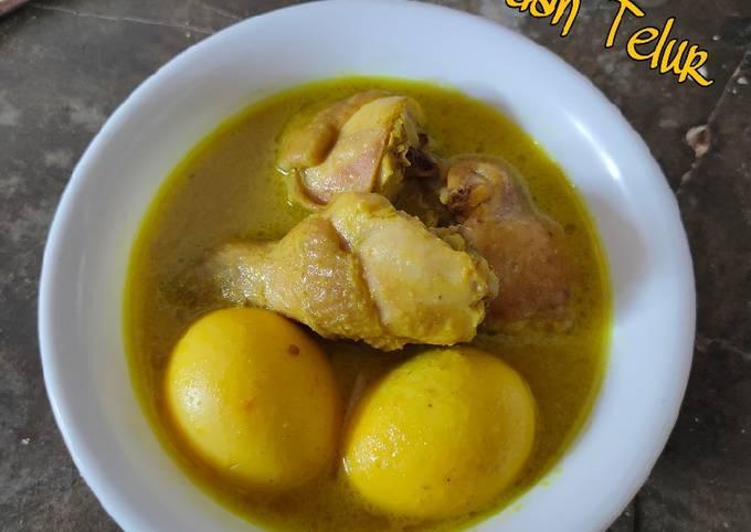 Opor Ayam dan Talur