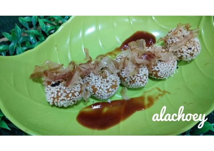 Takoyaki ubi #dietkenyang