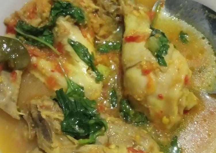 Cara mengolah Ayam rica rica kemangi #recook  yang Bikin Ngiler