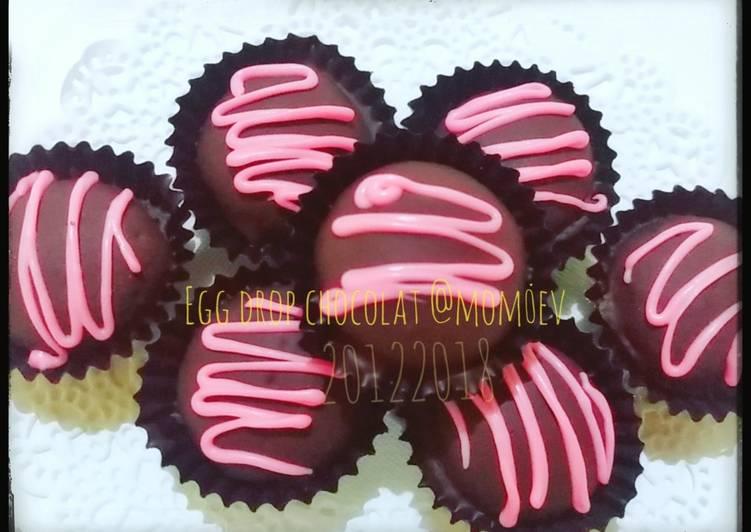 Egg drop chocolate