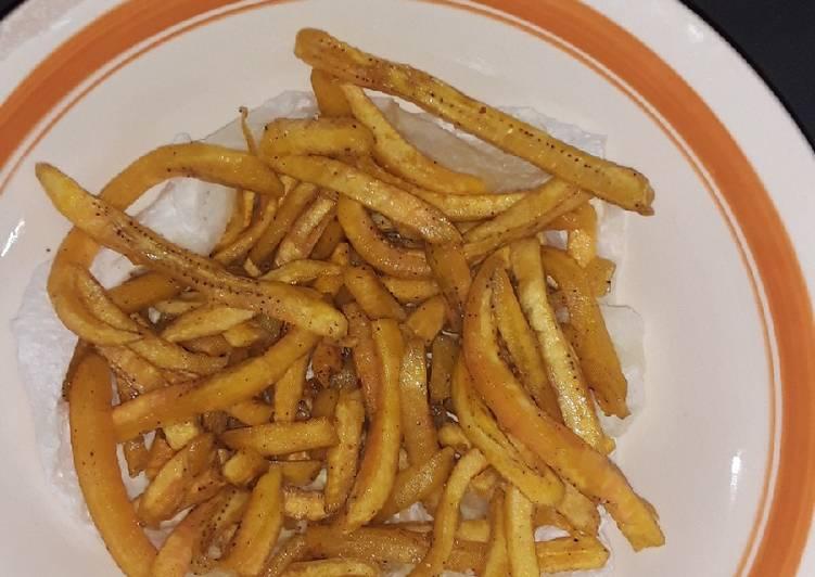 Steps to Prepare Favorite Banana(Matoke) fries