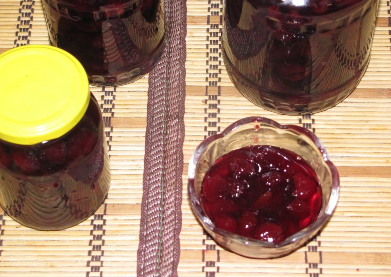 Варенье из вишни пошаговый рецепт с картинками