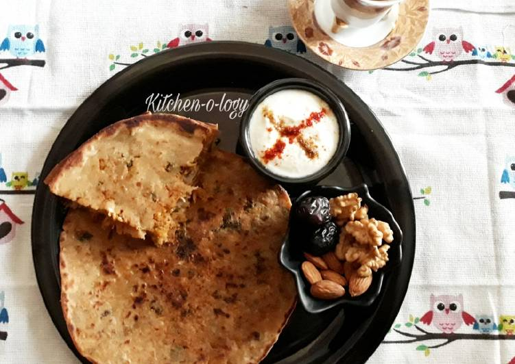 Foods That Can Make Your Mood Better Mooli Paratha