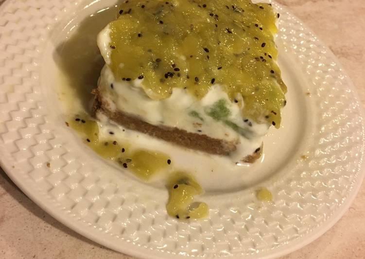 Ricetta Cheesecake ai kiwi