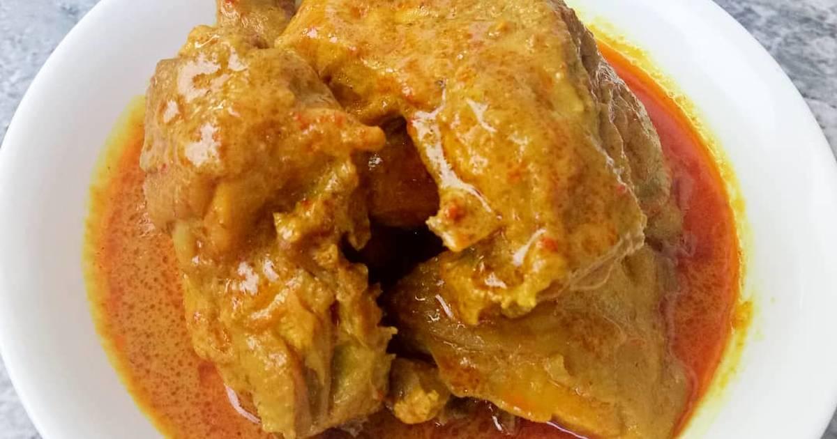 resep gulai ayam enak  sederhana cookpad Resepi Ayam Percik Utara Enak dan Mudah