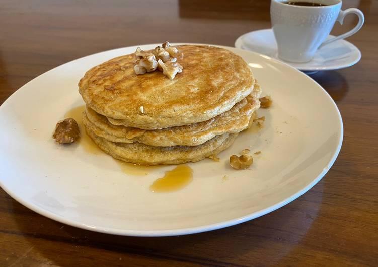 Steps to Prepare Homemade Flourless Protein Pancakes