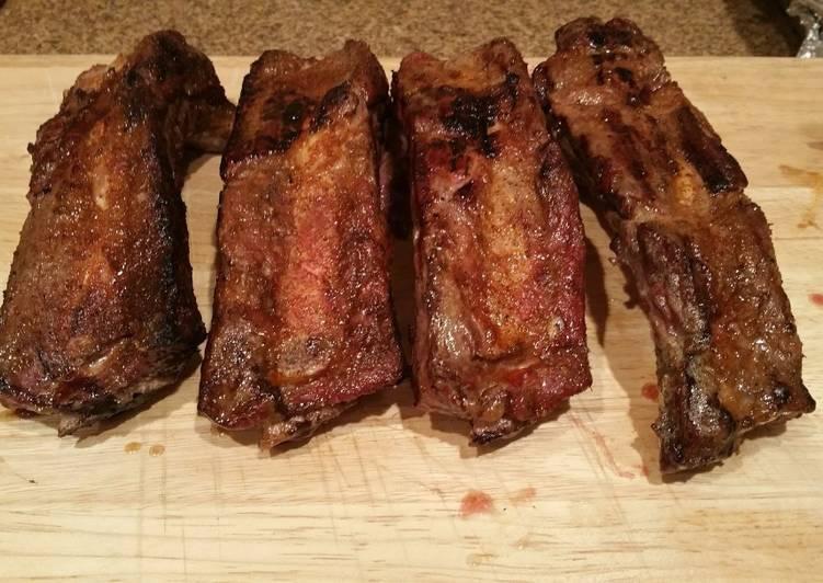 Reverse Sear Beef Ribs