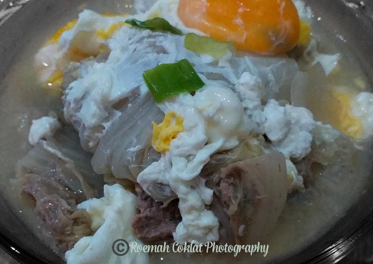 Resep Sup Sawi Ayam Gulung   Menu Anak Picky Eater, Enak