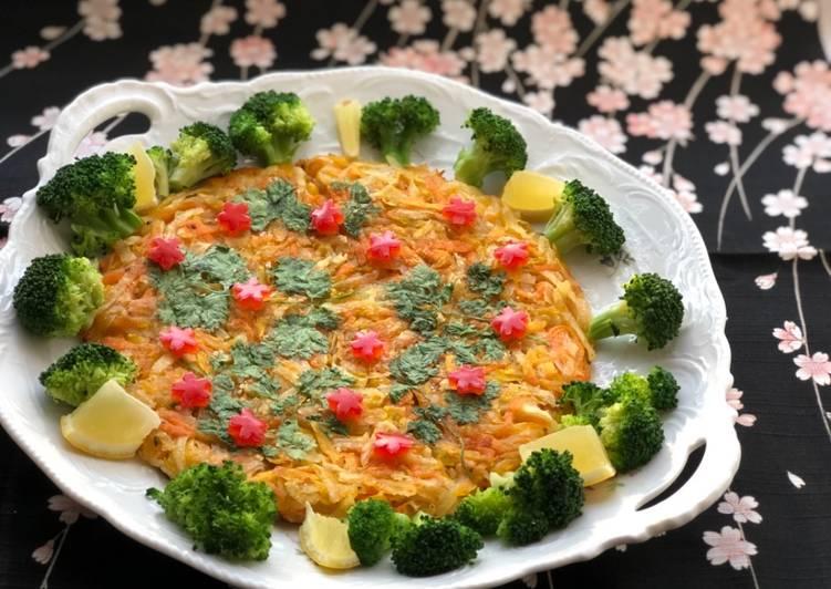 Recipe of Ultimate Potato Carrot Pumpkin 🌿Cake Salad