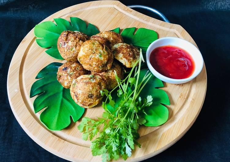 Easiest Way to Prepare Homemade Vegetables Oats Suji Paniyaram