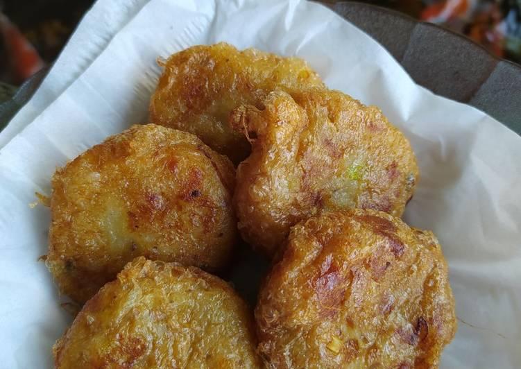 Bergedel kentang praktis