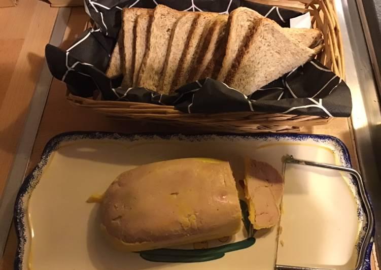 Recette Délicieux Foie gras au Porto blanc