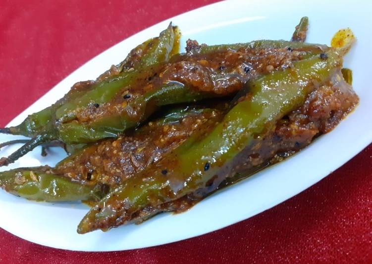 Easy Comfort Dinner Easy Cooking Rajasthani Mirch Pickle