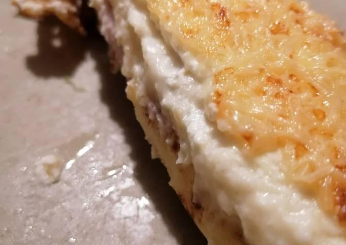 Crêpe jambon champignons ou ficelle picarde