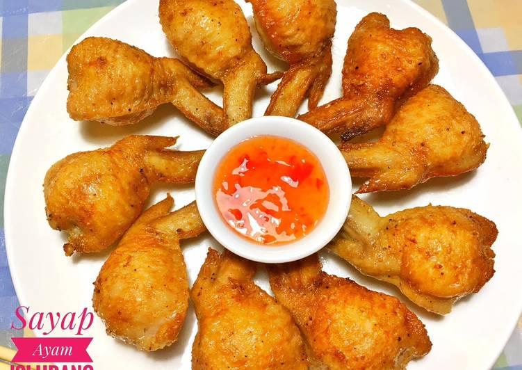 Sayap ayam isi udang