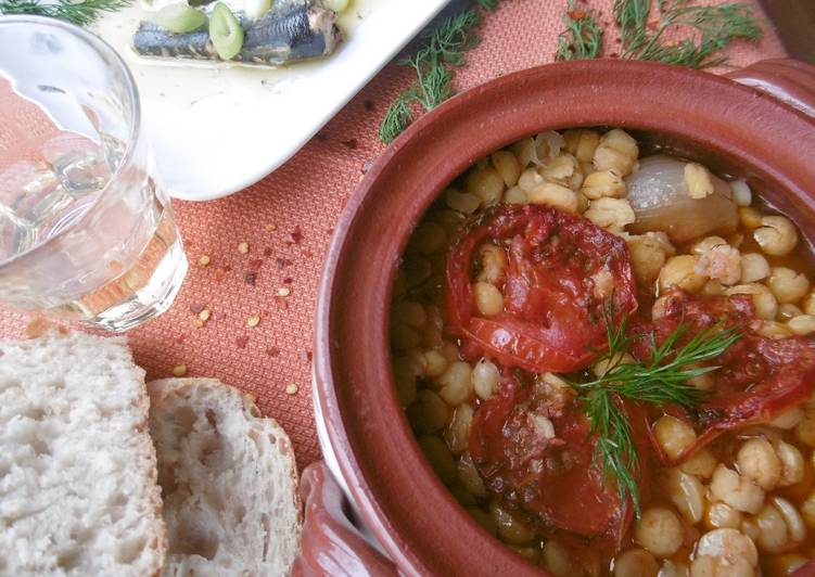 Simple Way to Make Homemade Baked Chickpea Stew (Revithada)