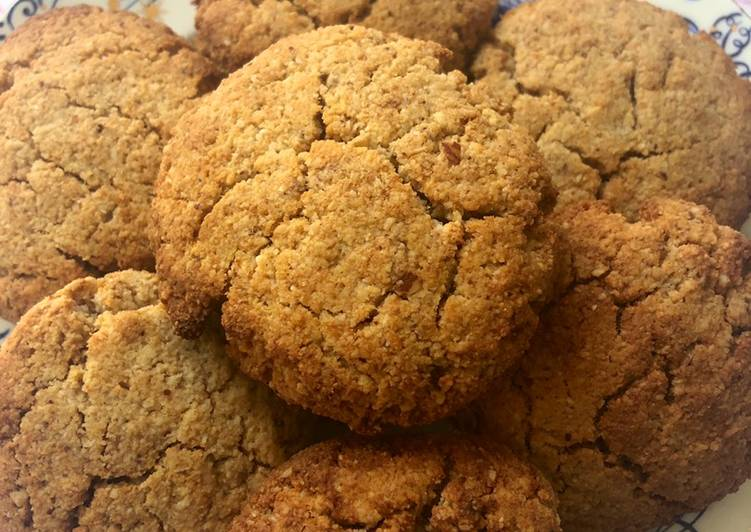 Miso nut cookies - vegan
