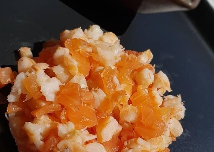 Méli-Mélo crevettes et saumon