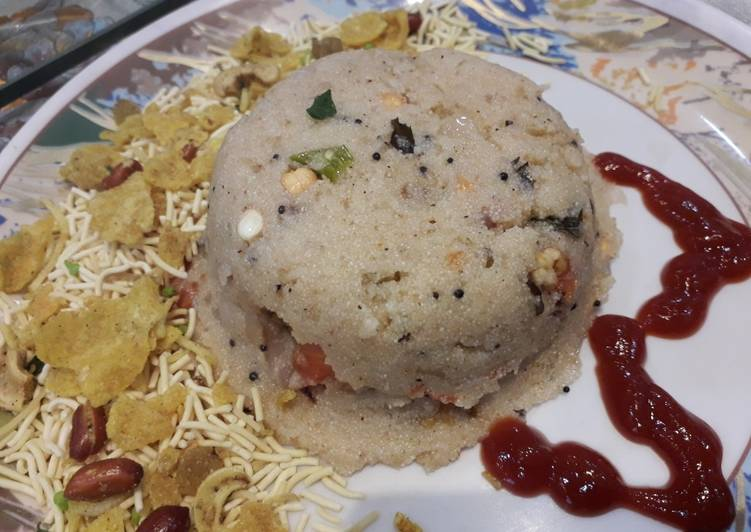 Upma very popular South Indian dish