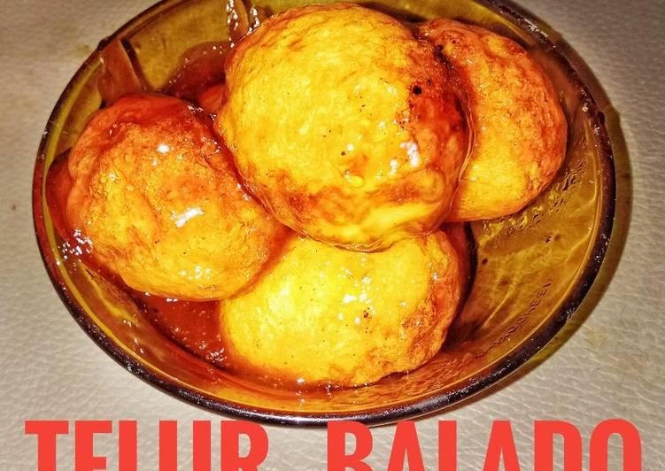 Telur Balado saos sambal