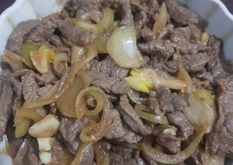 Resep Beef Teriyaki Tanpa Minyak Anti Gagal Aneka Resep Masakan Daging Sapi
