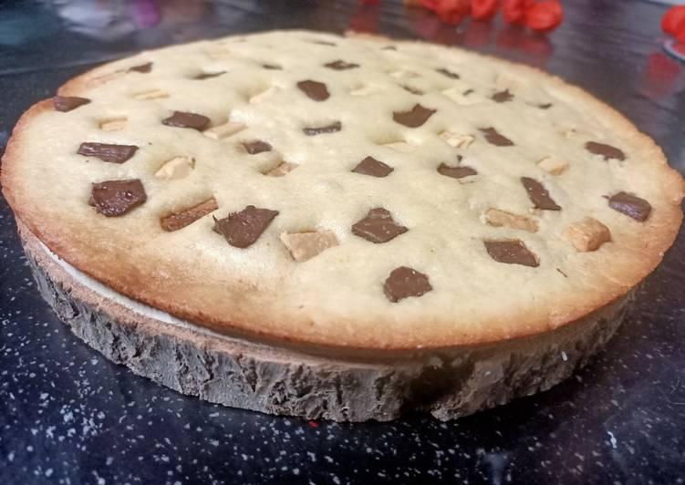 Comment faire Préparer Parfait Cookie géant
